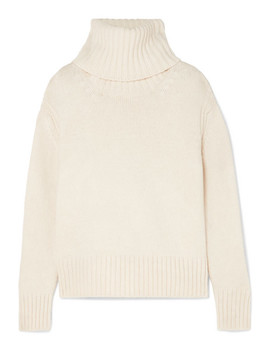 Roshin Wool Turtleneck Sweater by &Daughter