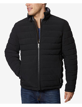 Men's Big & Tall Stretch Reversible Jacket by Nautica