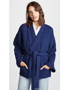 Jacquard Kimono by Mes Demoiselles