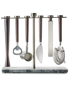 7 Piece Bar Tool Set, Created For Macy's by Hotel Collection