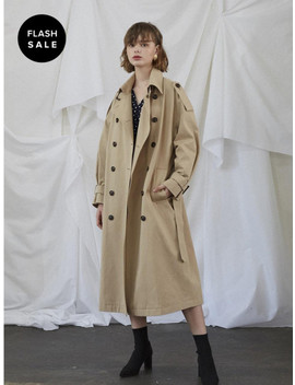 [Flash Sale] New York Trench Coat Beige by Salon De Yohn
