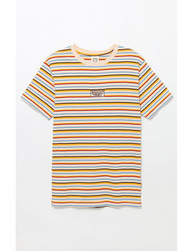 Insight Guess Who Stripe T Shirt by Pacsun