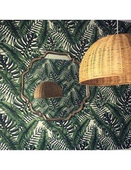 Tropisches Blatt Tapeten || Dschungel Wandbild || Dschungel Dekor || Tropischen Abnehmbare Tapeten || Schälen Und Stick Dekor #19 by Etsy
