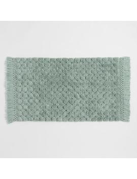 Chinois Green Woven Dot Bath Mat by World Market