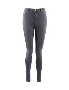 Grey 'shape &Amp; Lift' Stretch Skinny Jeans by Dorothy Perkins