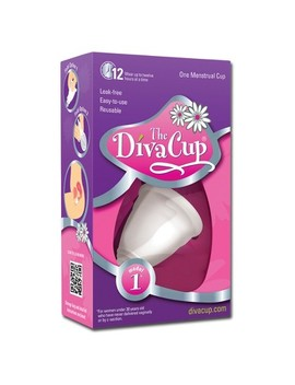 The Diva Cup Menstrual Cup   1ct (Model 1) by Diva Wash