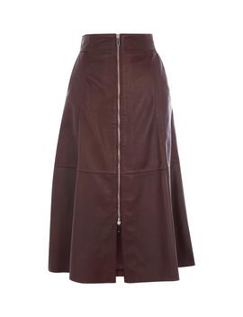 Midi Leather Skirt by Sd075 Kd059 Gd005 Fd112 Sd020 Sd052 Jd037 Je011 Cd035 Sd074 Ke087 Kd150 Jc037 Kd044 Kd091 Kd140 Kd074 Kd206