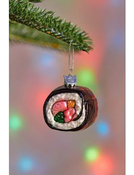 Sushi Christmas Ornament by Urban Outfitters
