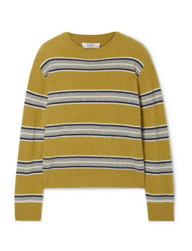 Salene Striped Cashmere Sweater by Sea