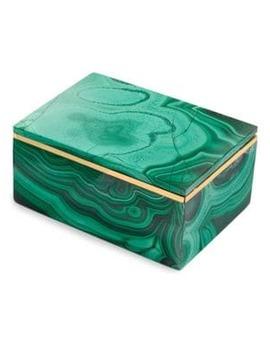 Small Malachite Box by Anna New York