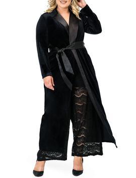 Freya Wrap Coat Dress by Standards & Practices
