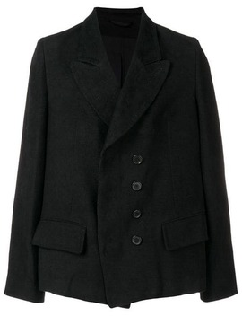Off Centre Buttoned Blazer by Ann Demeulemeester