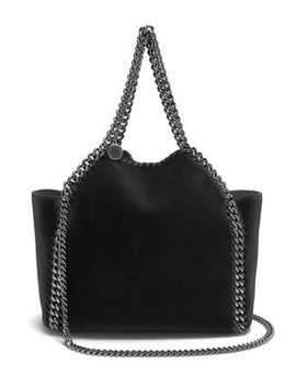Falabella Mini Velvet Reversible Cross Body Bag by Stella Mc Cartney