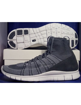 Nike Free Flyknit Mercurial Sp Htm Superfly Dark Grey White Sz 11 ( 667978 009 ) by Nike