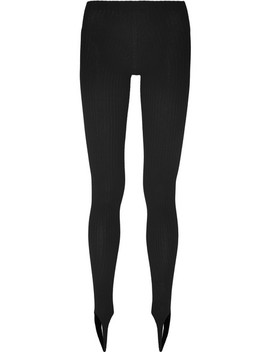 Stretch Jersey Stirrup Leggings by Jacquemus