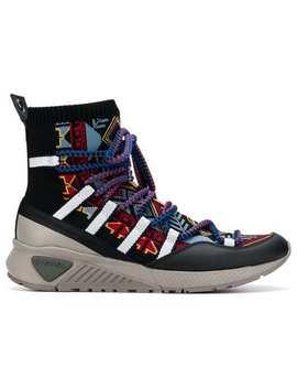 Hi Top Sock Sneaker Boots by Diesel
