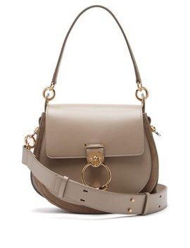 Tess Large Leather Cross Body Bag by Chloé