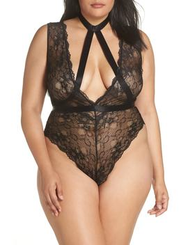 Harness Lace Teddy by Oh La La Cheri