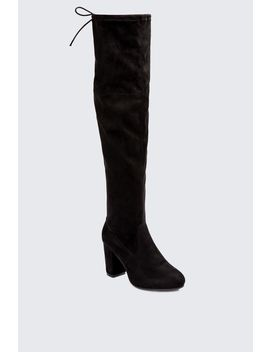 Block Heel Stretch Boots by Select