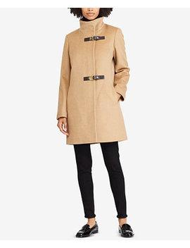 Buckle Front Walker Coat by Lauren Ralph Lauren