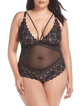 Strappy Lace Teddy by Oh La La Cheri