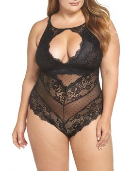 Cutout Lace Teddy by Oh La La Cheri