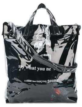 Laminated Shopper Bag by Comme Des Garçons Shirt