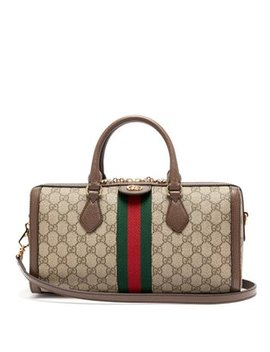 Ophidia Boston Gg Supreme Logo Bag by Gucci