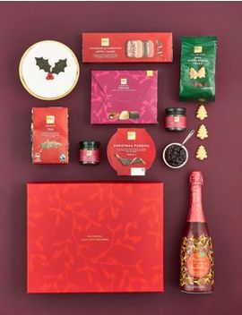 Classic Christmas Gift Box With Fizz by Marks & Spencer
