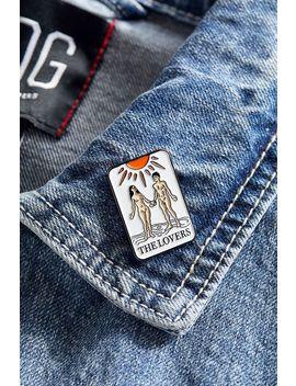 Verameat The Lovers Tarot Card Pin by Verameat