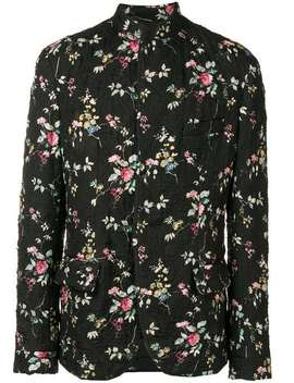 Quilted Floral Jacket by Haider Ackermann