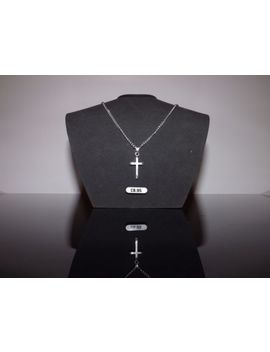 "10 Silver Plated 18"" Necklaces With Cross Pendants Wholesale Jewellery Job Lot by Ebay Seller"