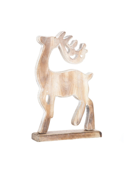 Standing Deer Wood Decor   Medium by Hobby Lobby