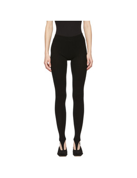 Black 'les Collants' Leggings by Jacquemus