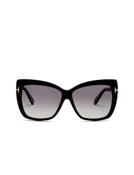Women's Irina Oversized Polarized Sunglasses by Tom Ford
