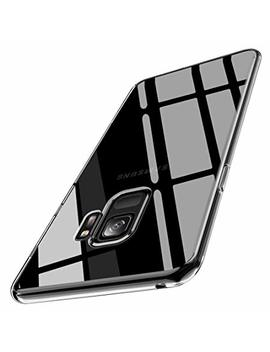 Joyguard Samsung Galaxy S9 Case, Transparent Clear Soft Tpu Galaxy S9 Case With Stylish Electroplating Bumper [Ultra Thin] [Shock Absorption] Samsung Galaxy S9 Case Clear   5.8inch   Clear by Joyguard