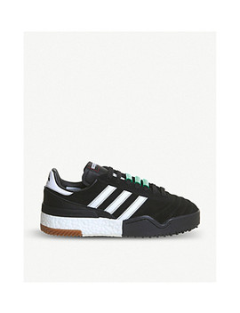 Aw Bball Soccer Suede Trainers by Adidas