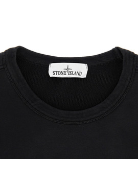 Crewneck Sweatshirt Black by Stone Island