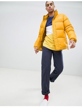 Dickies Oakvale Padded Jacket In Yellow by Dickies