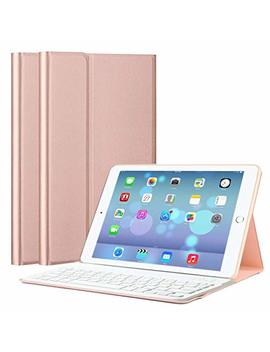 I Pad Keyboard Case 9.7, Upworld Wireless Bluetooth Keyboard Cover Case For I Pad 9.7 2018 | 2017 | I Pad Air 2 | I Pad Air, Ultra Thin Magnetically Detachable Removable Wireless Keyboard For I Pad by Upworld