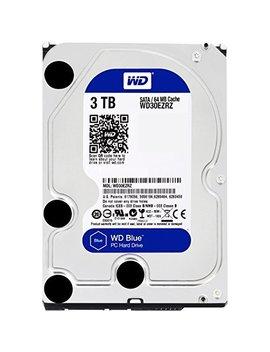 Wd Blue 3 Tb  Desktop Hard Disk Drive   5400 Rpm Sata 6 Gb/S 64 Mb Cache 3.5 Inch by Western Digital