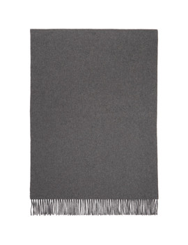 Grey New Canada Scarf by Acne Studios
