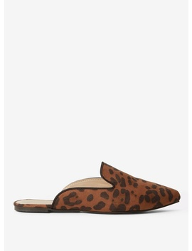 Leopard 'haze' Mules by Dorothy Perkins