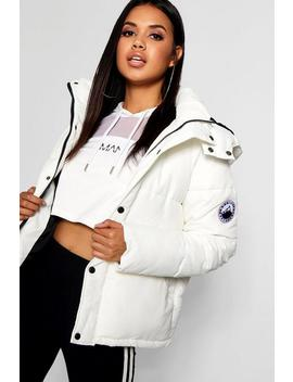 Sporty Padded Jacket by Boohoo