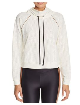 Pump Netz Cropped Sweatshirt by Koral