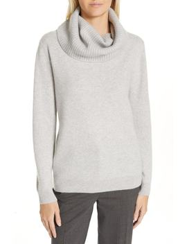 Boiled Cashmere Cowl Neck Sweater by Nordstrom Signature