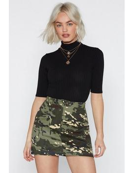 One Neck Of A Party Turtleneck Bodysuit by Nasty Gal