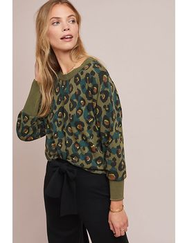 Wild Leopard Sweatshirt by Numph