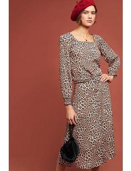 Eva Leopard Blouse by Kachel