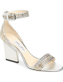 Edina Metallic Sandal by Jimmy Choo